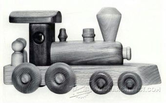 3779-Wooden Toy Train Plans