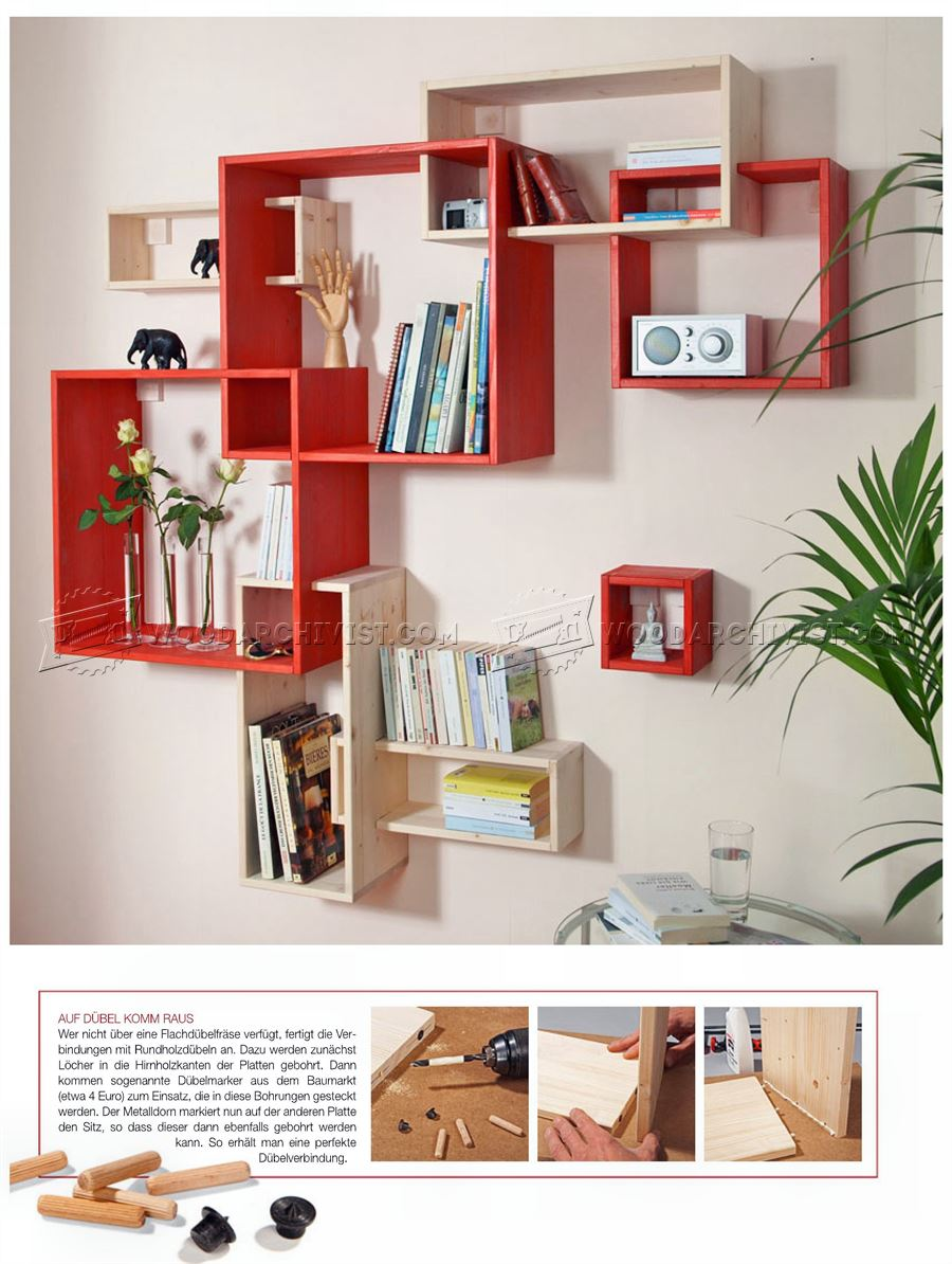 Build Modular Shelves