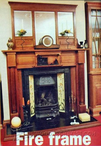 3781-Fireplace Mantels Plans