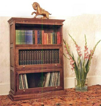 3783-Barristers Bookcase Plans