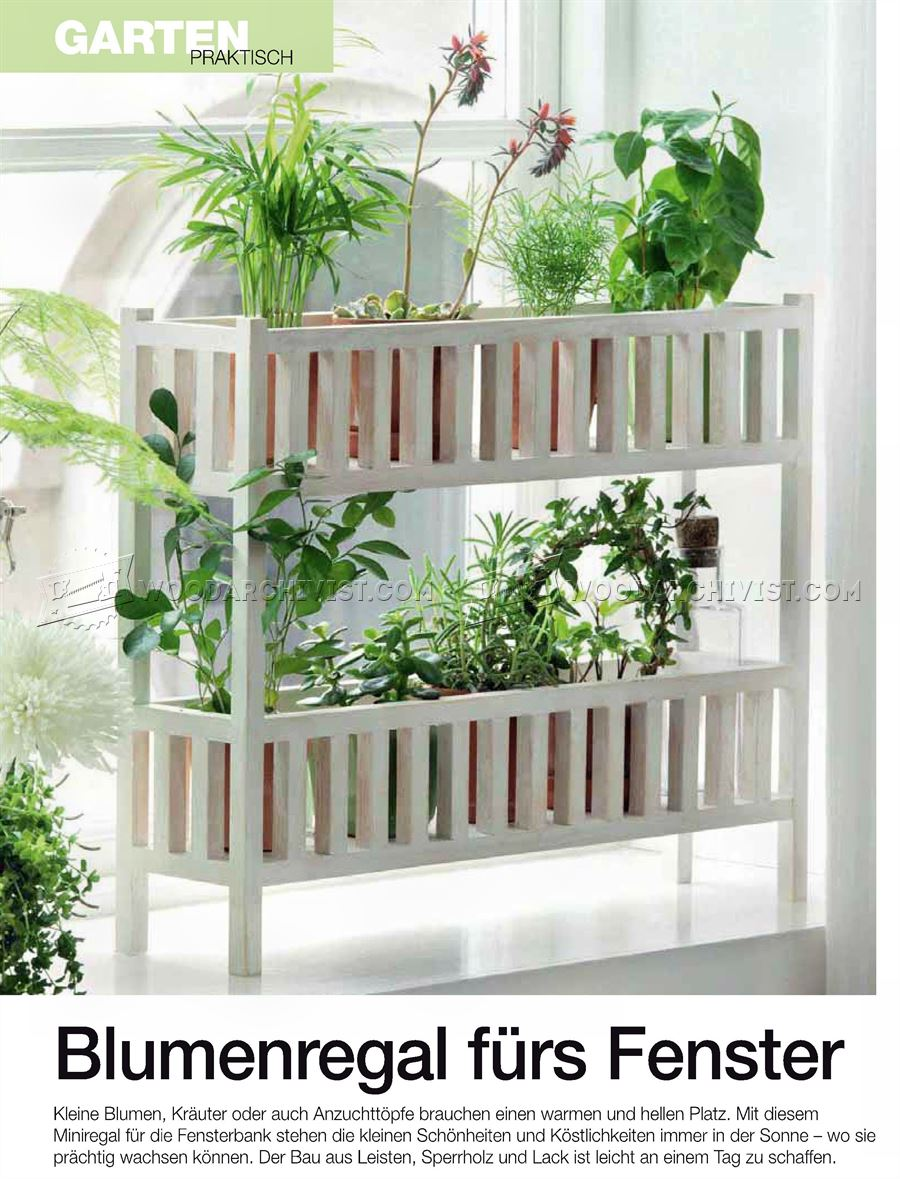 Indoor Planter Plans