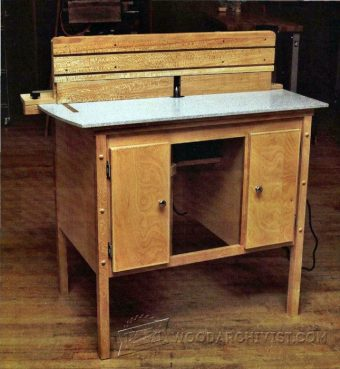 3802-Ultimate Router Table Plans