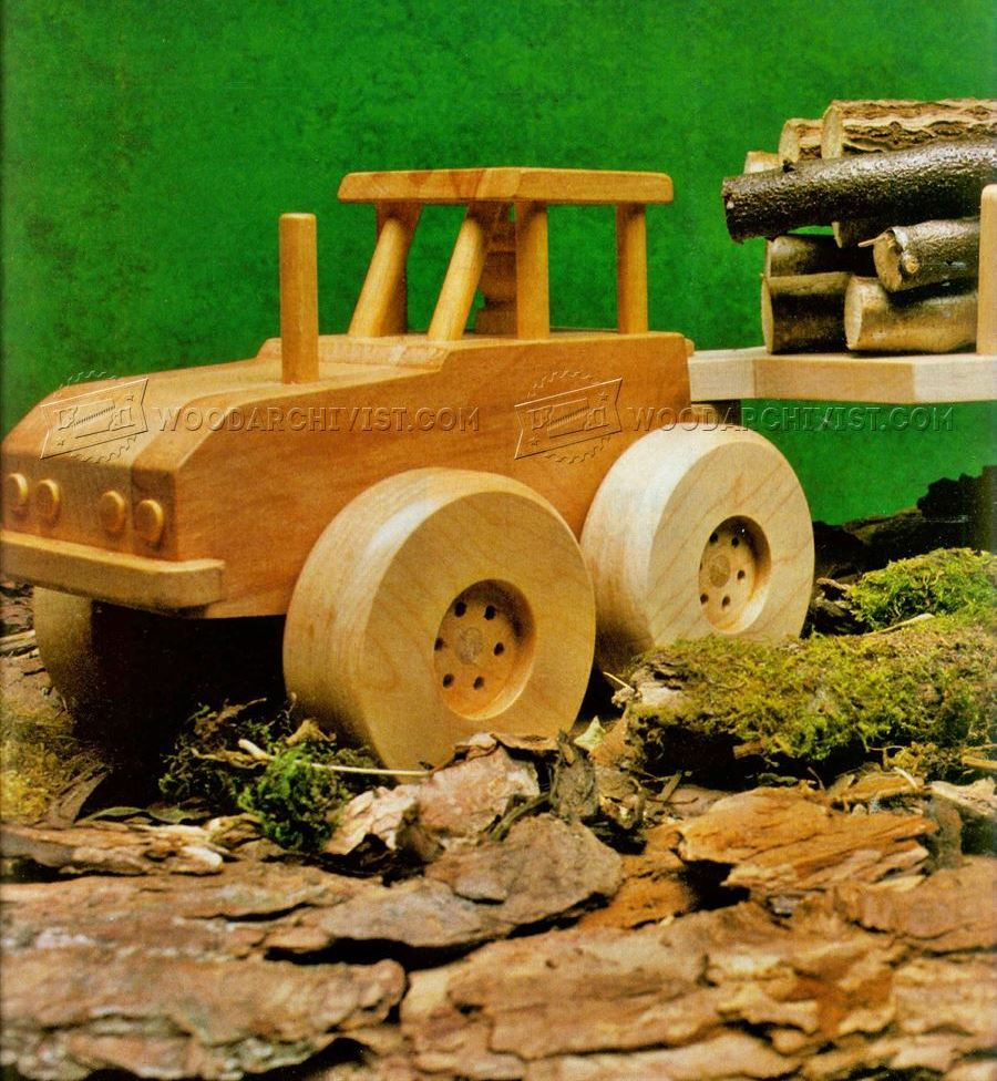 Wooden Logging Truck Plans