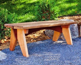 3810-Outdoor Bench Plans