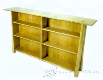3811-Simple Bookcase Plans