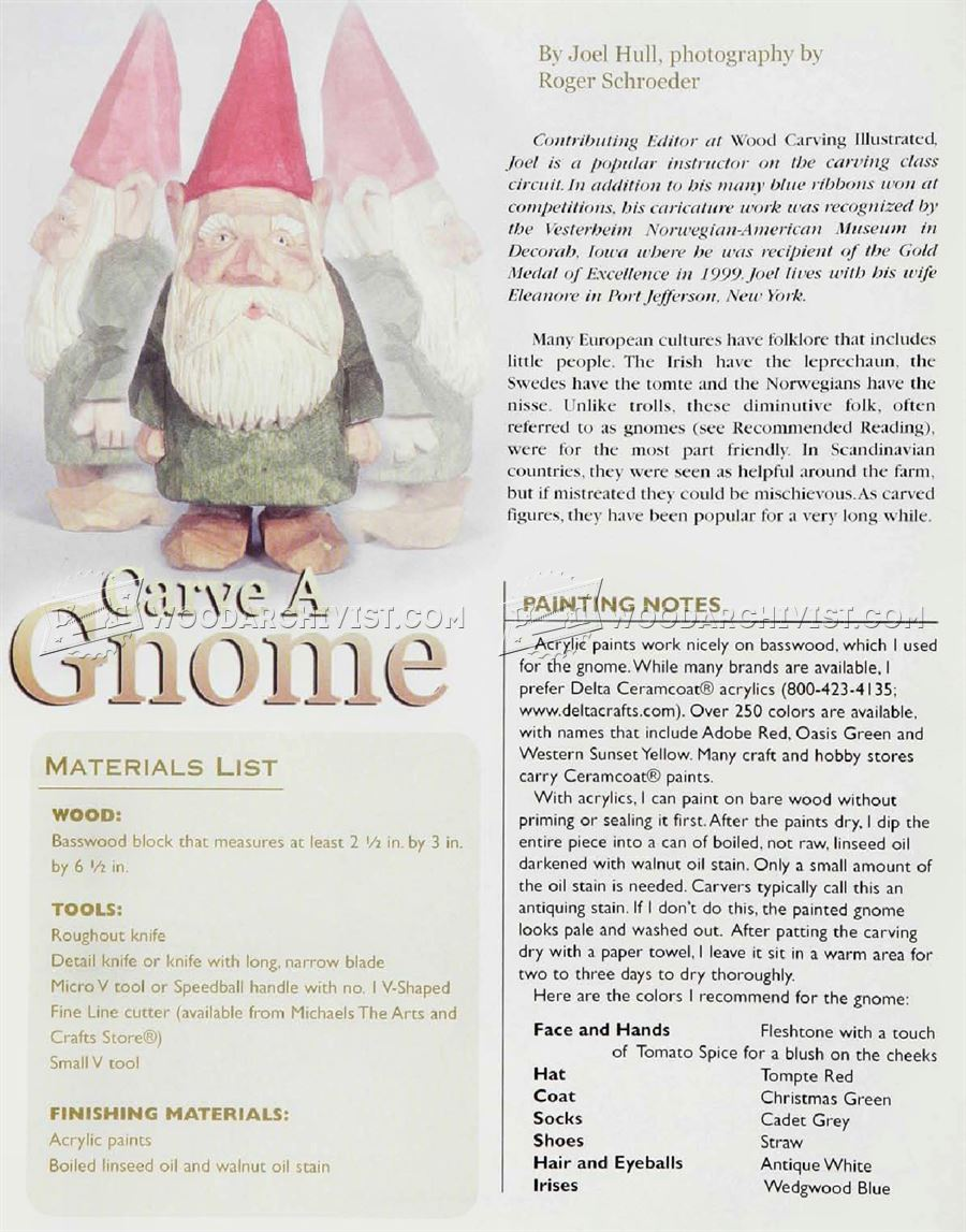 Gnome Carving