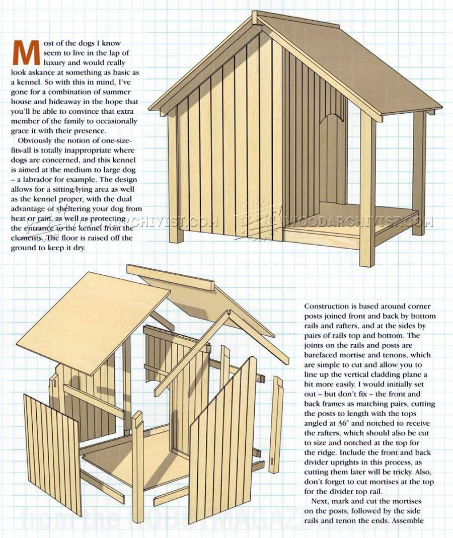 Astonishing outside dog house plans photos best for Indoor outdoor dog kennel design