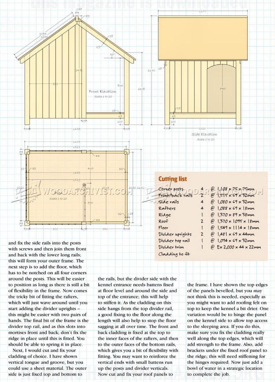 Dog Kennel Plans