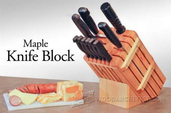 3827-Knife Block Plans