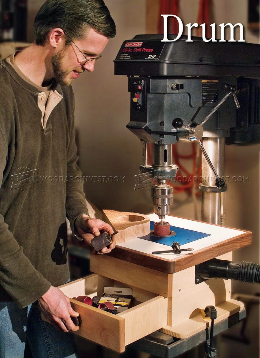 DIY Drill Press Sander