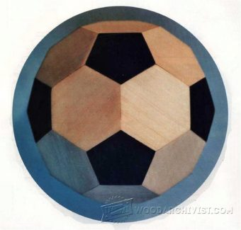 3837-Making Wooden Soccer Ball