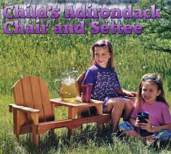 3838-Childrens Adirondack Chair Plans