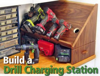 3845-Cordless Drill Charging Station Plans