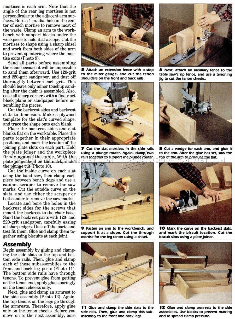 DIY Morris Chair