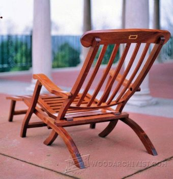 3850-Titanic Deck Chair Plans