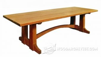 3853-Large Occasional Table Plans