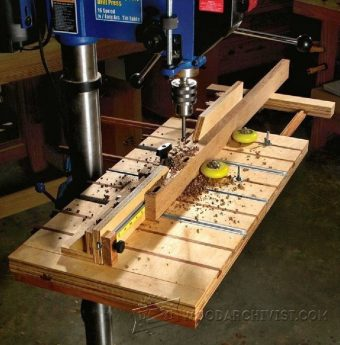 3858-Drill Press Table Plans