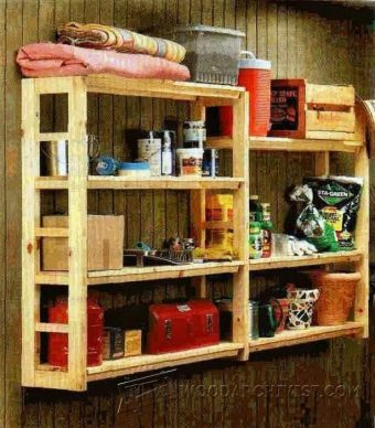 3859-DIY Utility Shelf