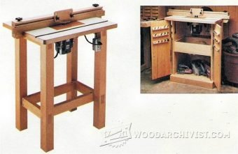 3864-Making a Router Table