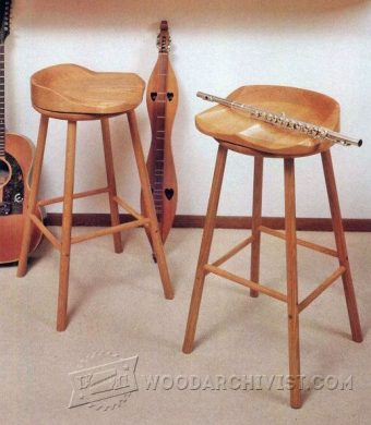 3879-Swivel Bar Stool Plans