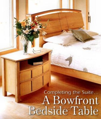 3882-Bedside Table Plans