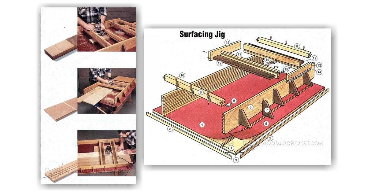 Diy Router Planer Jig Woodarchivist