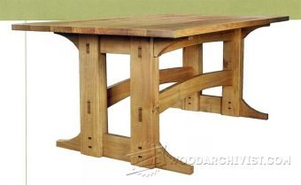 3901-Refectory Table Plans