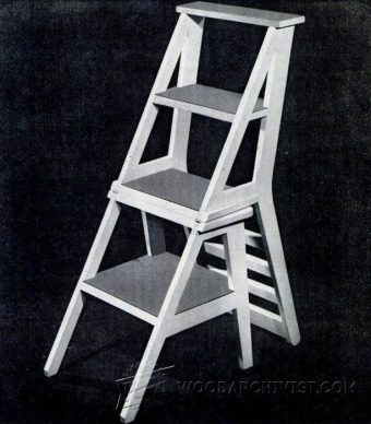 3908-Ladder Chair Plans