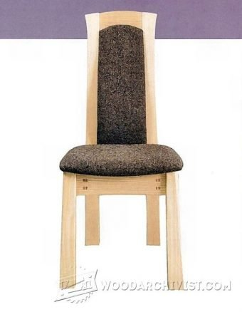 3911-Laminated Dining Chair Plans