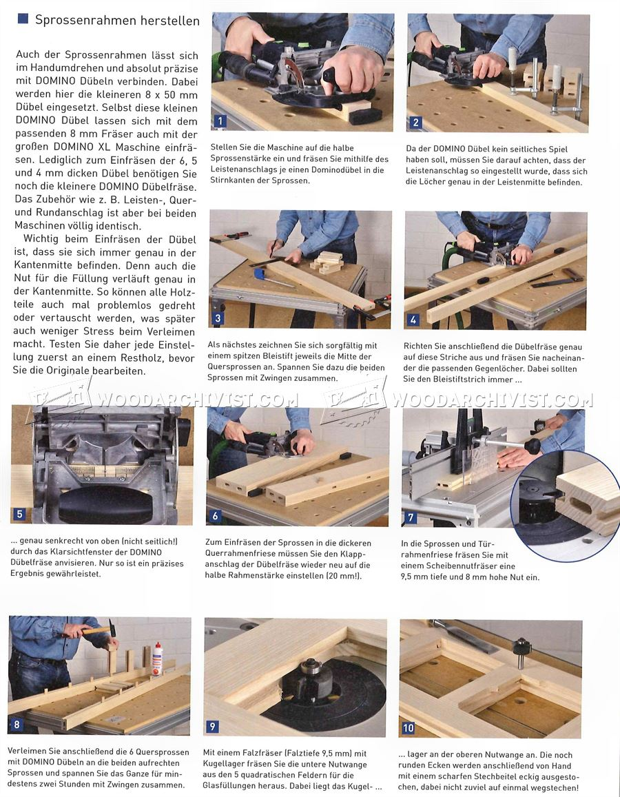 Making a Wooden Door