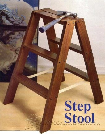 3916-DIY Step Stool