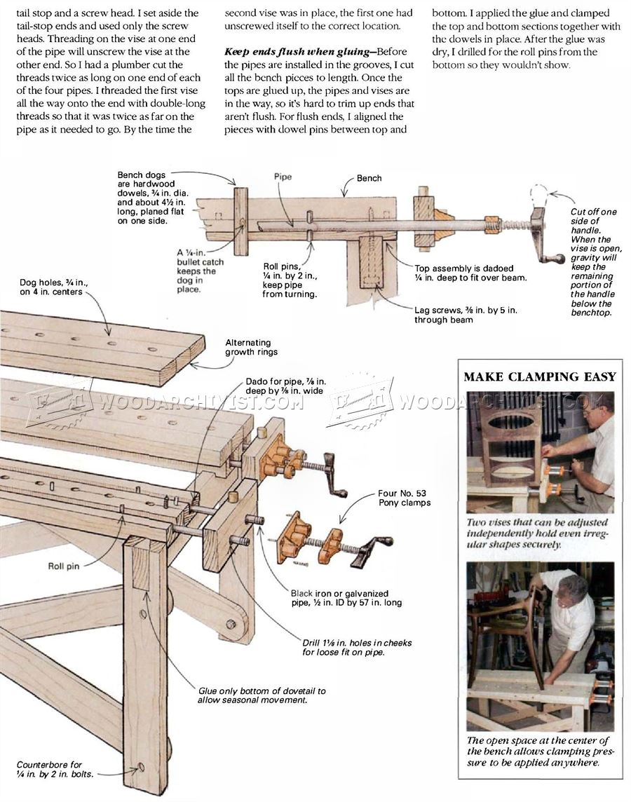Assembly Table Plans