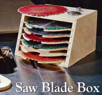 3919-Saw Blade Storage Box