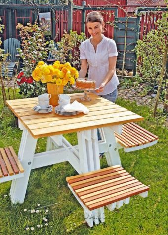 3920-Foldable Picnic Table Plans