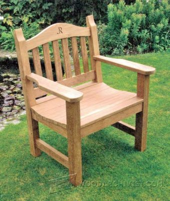 3924-Outdoor Chair Plans