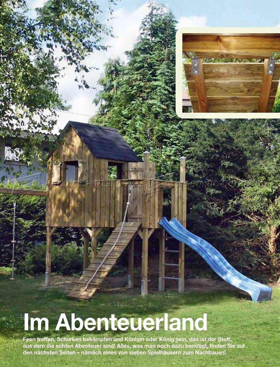 Attrayant DIY Backyard Playhouse