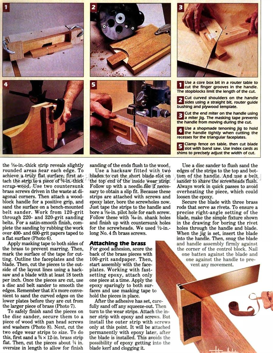 DIY Woodworking Hand Tools