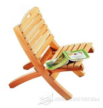 3938-Folding Patio Chair Plans