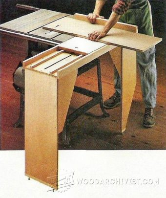 3935-DIY Table Saw Sliding Table