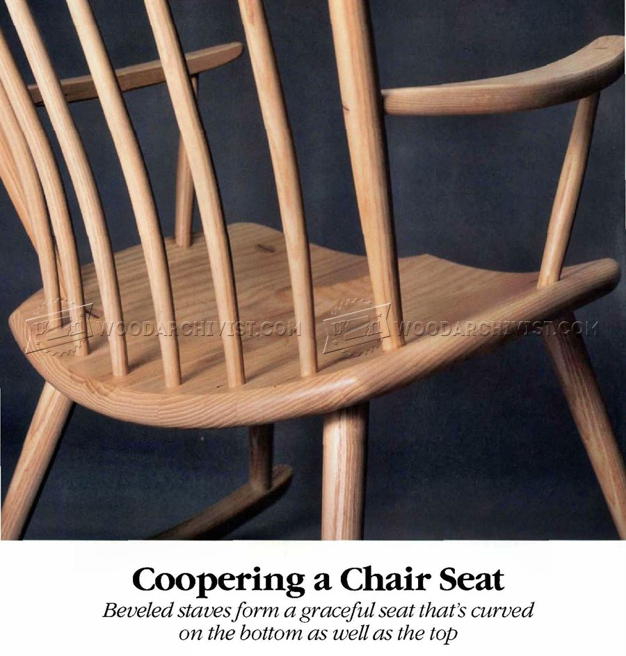 Coopering a Chair Seat