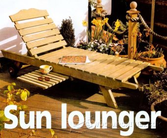 3946-DIY Sun Lounger