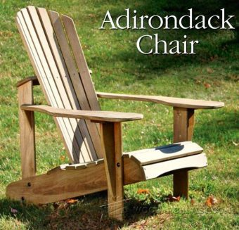 3948-DIY Adirondack Chair