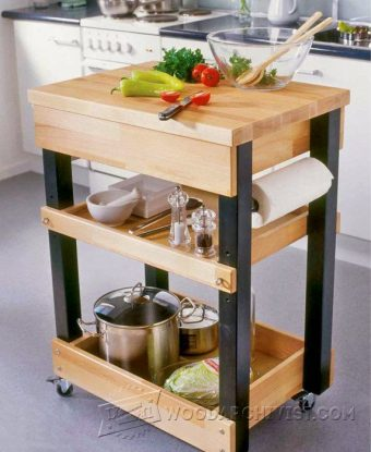 3949-Kitchen Cart Plans