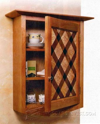 3951-Wall Cabinet Plans