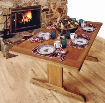 3952-Rock Solid Trestle Table Plans