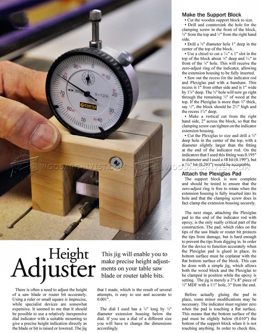 DIY Height Gauge
