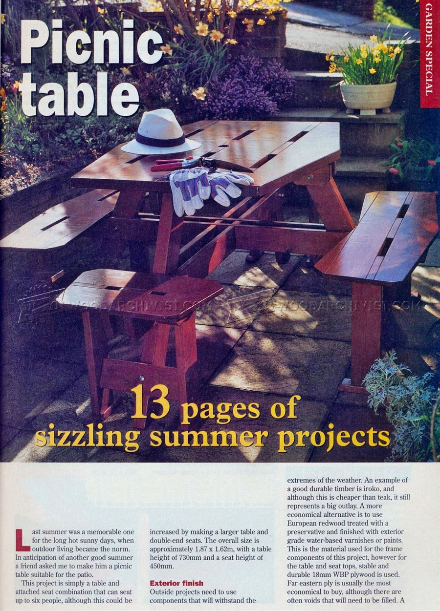 Build a Picnic Table