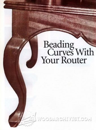 3965-Beading Curves With  Router