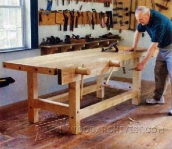 3966-Heavy Duty Workbench Plans