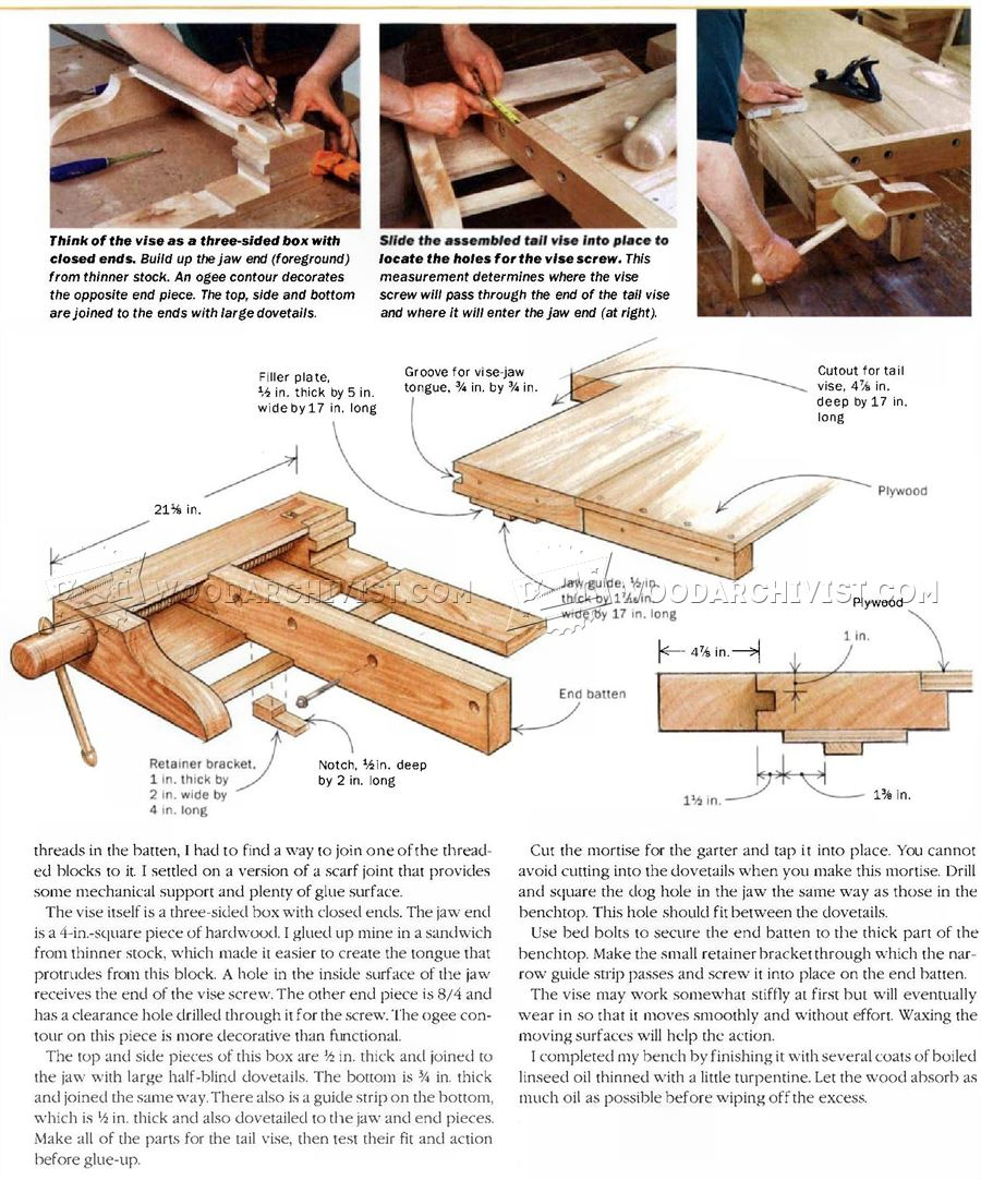 Heavy Duty Workbench Plans